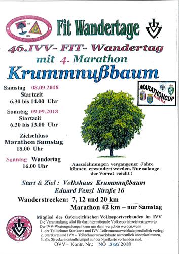 Ivv Wandertage In Krummnußbaum Krummnußbaum Bürgerservice Mit
